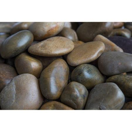 Margo 20 lb Mixed Grade A Polished Pebbles, 1'' to 2'' by Generic