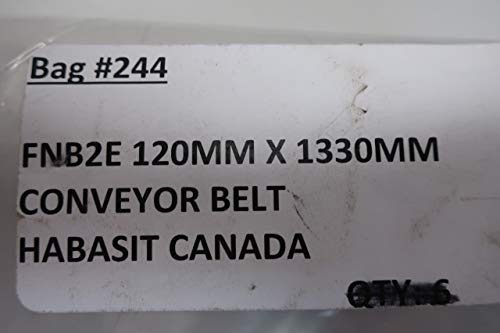 HABASIT FNB2E Endless Conveyor Belt 1330MM X 120MM