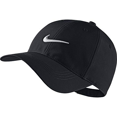 NIKE Mens Golf Legacy91 Tech Adjustable Hat (Color: White/Anthracite/Black)