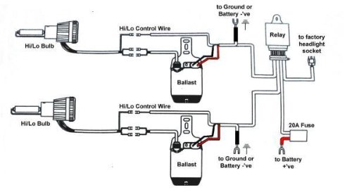 41QUzxd7%2BML xentec h13 wiring diagram xentec hid kit installation \u2022 wiring  at gsmx.co