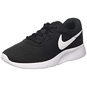 Nike Womens Wmns Tanjun, BLACK/WHITE, 11 US