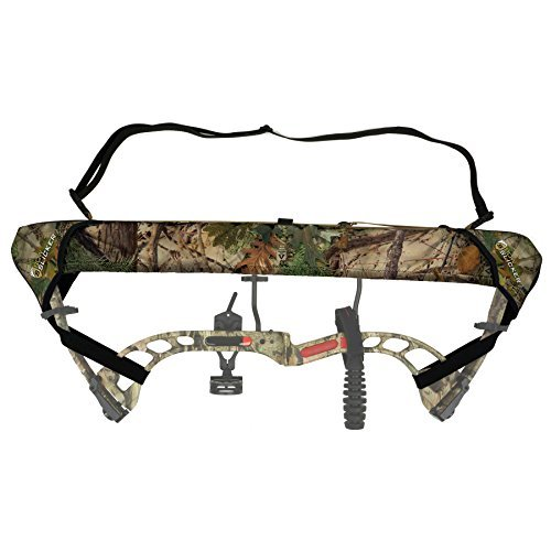 - Slicker Weatherproof Bow Sling for Archery, Soft and Compact Bow Case for Hunting Gear Accessories, Cam and String Protector - Alpine Mountain Camo