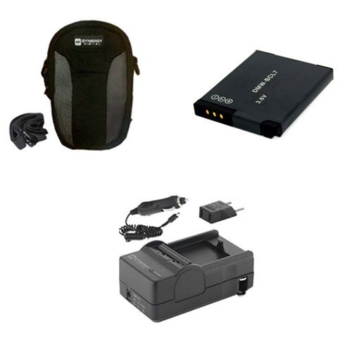 Price comparison product image Panasonic Lumix DMC-SZ3 Digital Camera Accessory Kit includes: SDC-22 Case,  SDM-1567 Charger,  SDDMWBCL7 Battery