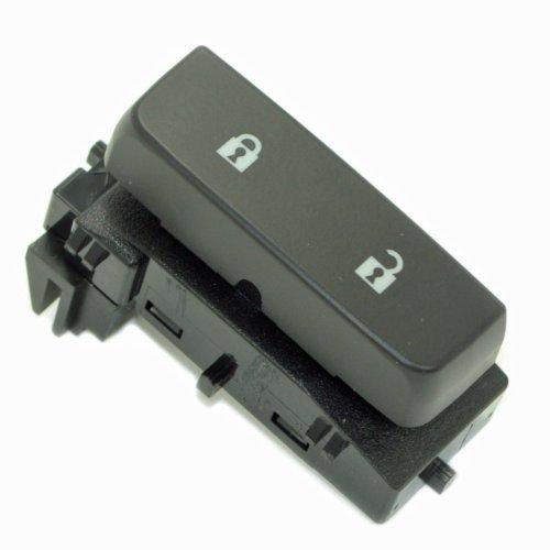 ACDelco 15804094 GM Original Equipment Black Single Door Lock Switch with Blue Backlighting