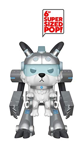Pop! Figura de Vinilo Animacion Rick & Morty S6 - Snowball in Mech Suit