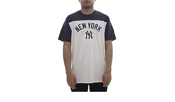 47 Camiseta Brand MLB New York Yankees Beige S (Small): Amazon.es: Ropa y accesorios