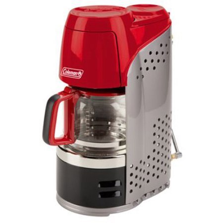 10-Cup Instastart Portable Propane Coffeemaker Great for the Outdoors and Easy to use by Coleman*