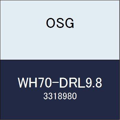 OSG 超硬ドリル WH70-DRL9.8 商品番号 3318980
