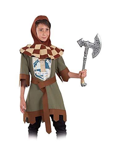 DISBACANAL Traje Caballero Medieval Infantil - Único, 12 ...
