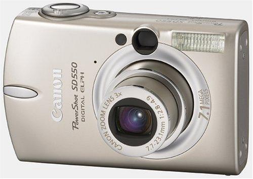 amazon com canon powershot sd550 7 1mp digital elph camera with 3x rh amazon com Canon Digital IXUS 65 canon powershot sd500 digital elph manual
