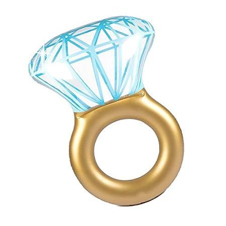 DMGF Anillo Inflable Piscina Flotador Diamantes Válvulas Rápidas ...