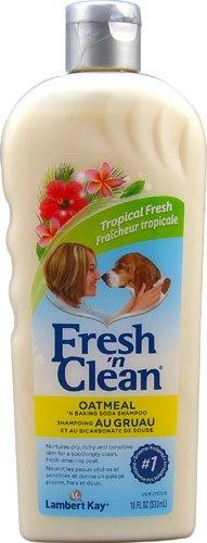 Lambert Kay Fresh 'N Clean Oatmeal 'N Baking Soda Shampoo Tropical Scent -- 18 fl oz - 3PC (Lambert Oatmeal Kay)