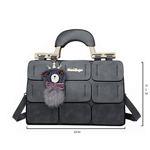 Shoulder Handbags New Suture Women Red Boston Spring summer Bag Leather Inclined 44q016