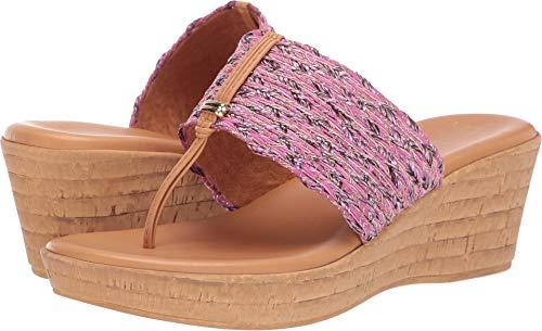 ITALIAN Shoemakers Women's Angeles Fuchsia Multi 6.5 M US