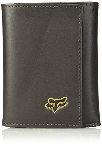 Fox Men's Trifold Leather Wallet, Brown, NS