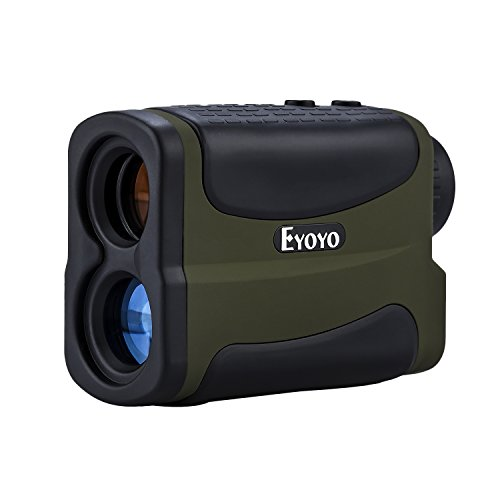 Eyoyo Waterproof 6x Multifunction Golf RangeFinder with Ranging, Scan, Flagpole Lock , Fog and Speed function ( 5~700 Yd )