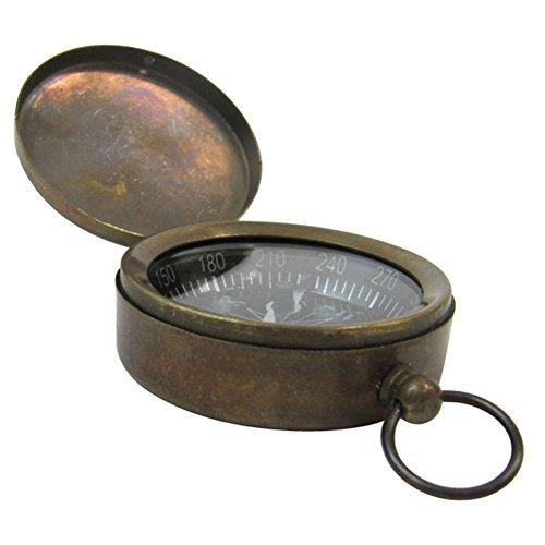 Armor Venue Pocket Compass Brass Antique Outdoor Camping Gear by Armor Venue