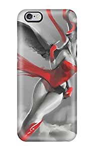 Defender Case With Nice Appearance (angel In A Red Dress) For Iphone 6 Plus wangjiang maoyi