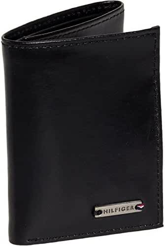 Tommy Hilfiger Mens Leather Classic Trifold Wallet
