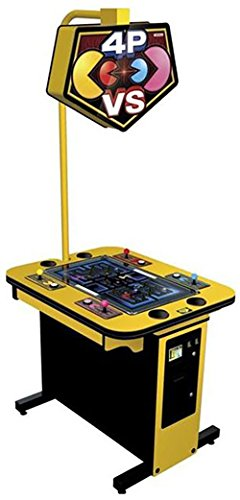 Namco Pac-Man Battle Royale 4-Player Cocktail Cabinet (Namco Machines Arcade)