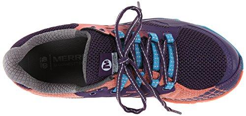Merrell Charge, Scarpe da Corsa Donna Porpora Size: EU 37
