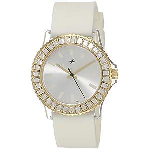 Fastrack Hip Hop Analog White Dial Women's Watch NM9827PP01 / NL9827PP01