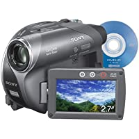 Sony DCR-DVD205 1MP DVD Handycam Camcorder with 12x Optical Zoom (Discontinued by Manufacturer)