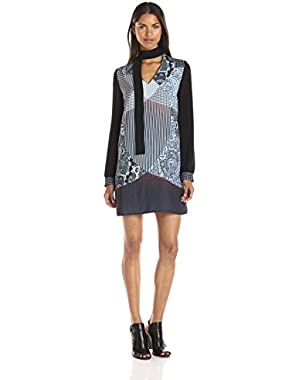 Sportswear Women's Kaleidoscope Paisley Long Sleeve Dress