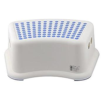 AJ 2 Pack Taburete para pies Antideslizante para niños para Aprendizaje y Uso en el baño o la Cocina, QYF1553-2: Amazon.es: Hogar