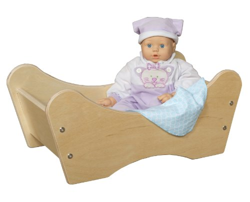 Wood Designs WD11500 Doll Bed by Wood Designs