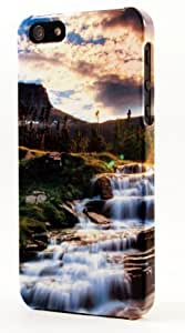 Cold Sparkling Mountain Water Dimensional Case Fits iPhone 5 or iPhone 5s