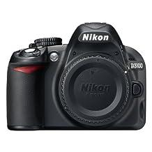 Nikon D3100 DX-Series 14.2MP Digital SLR Camera (Body Only)(Black)