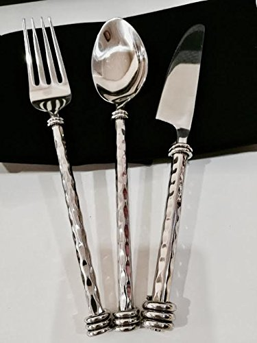 3-pieces /2 Set Steak Spoon Fork Set Stainless Steel (Fad-Shop) (Air Force One Halloween Edition)