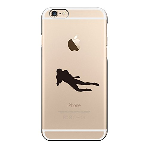 iPhone6 case 4.7 inch Transparent shell Super receive American football wide receiver