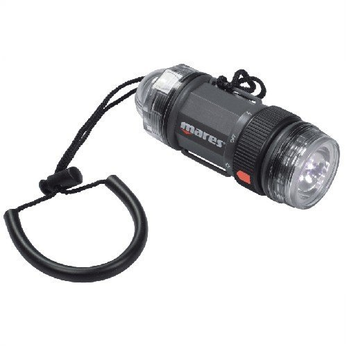 [Mares Strobe Beam LED Torch - Underwater LED Strobe Light] (Mares Compact)