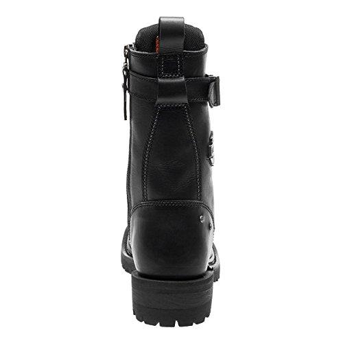 Davidson EU 40 Black Cuir Calvert Bottes Femme Harley pqwZRdp