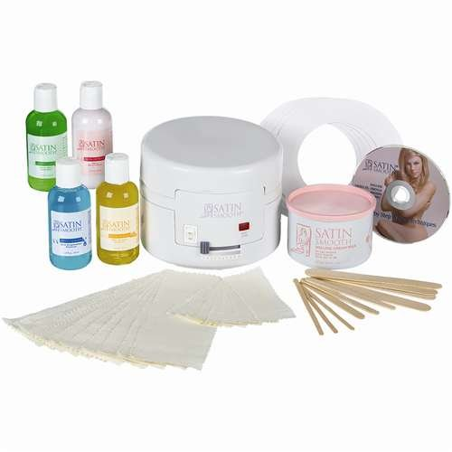 Satin Smooth Single Wax Warmer Kit SSW4CKIT