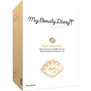 My Beauty Diary Facial Mask, Royal Pearl Powder 2015, 10 Count