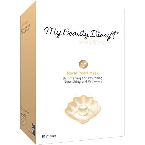 My Beauty Diary Facial Mask, Royal Pearl Powder 2015, 10 Cou