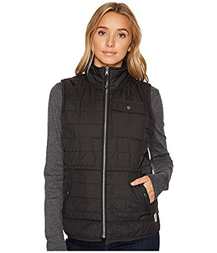 敬な喉頭エゴイズムカーハート Carhartt レディース コート Black Amoret Flannel Lined Vest [並行輸入品]