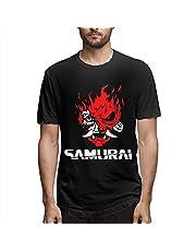NNTOPELET Cyberpunk 2077 herrmode 100 % bomull rund hals kortärmad t-shirt