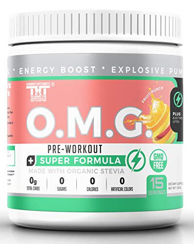 OMG-Preworkout-Drink-for-Men-and-Women-with-Electrolytes-Organic-Caffeine-and-Organic-Stevia-Scientifically-Crafted-Boost-Energy-Stamina-Mental-Clarity-Focus-and-Performance
