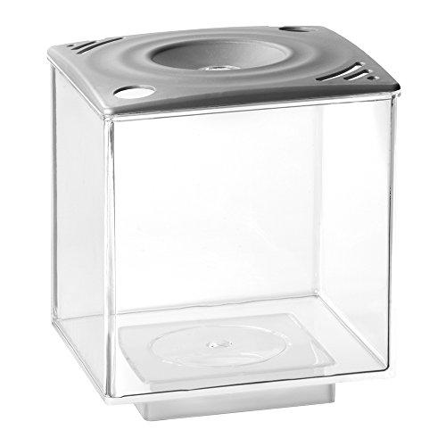 Elive 01033 Betta Cube, 0.75 gallon, Silver