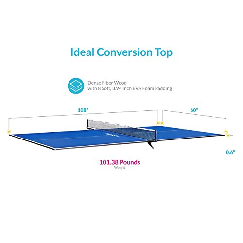 Harvil Table Tennis Conversion Top with FREE Net and Posts by Harvil (Image #3)