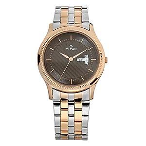 Titan Gents Karishma Analog Brown Dial Men's Watch-NM1824KM01 / NL1824KM01