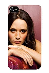 Case Cover Protector Specially Made For Iphone 4/4s Emily Blunt