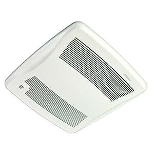 Broan xb110h ultra green energy star qualified humidity sensing bathroom fan 110 cfm white for Panasonic whisperfit ez bathroom fan 80 or 110 cfm