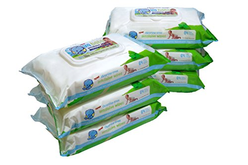 Ya Baby Sensitive Wipes, 384 Count (Pack of 6)