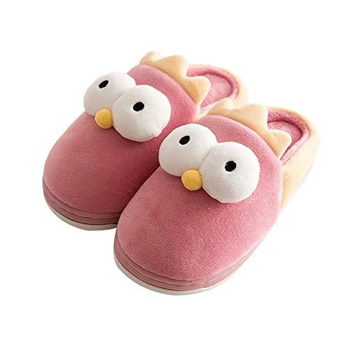 Cute Animal Clog Slippers Fuzzy Velvet Cushioned Foam Indoor House Slide Shoes Boys Girls Children - Foam Girl