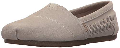 Skechers Womens Luxe Bobs-Boho Crown Ballet Flat Natural fnGFnV